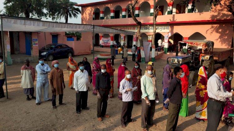 Bihar Assembly election 2020: 1st Phase Poll: 16 जिलों की 71 सीटों पर 53.54% वोटिंग